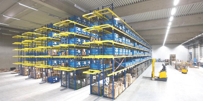 Průmyslové a logistické osvětlení