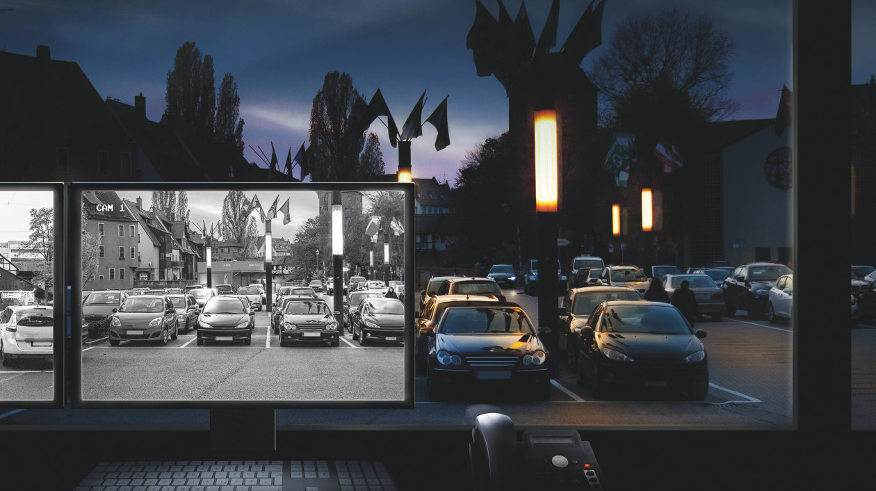 Application - Surveillance (CCTV) - Parking Lot Security