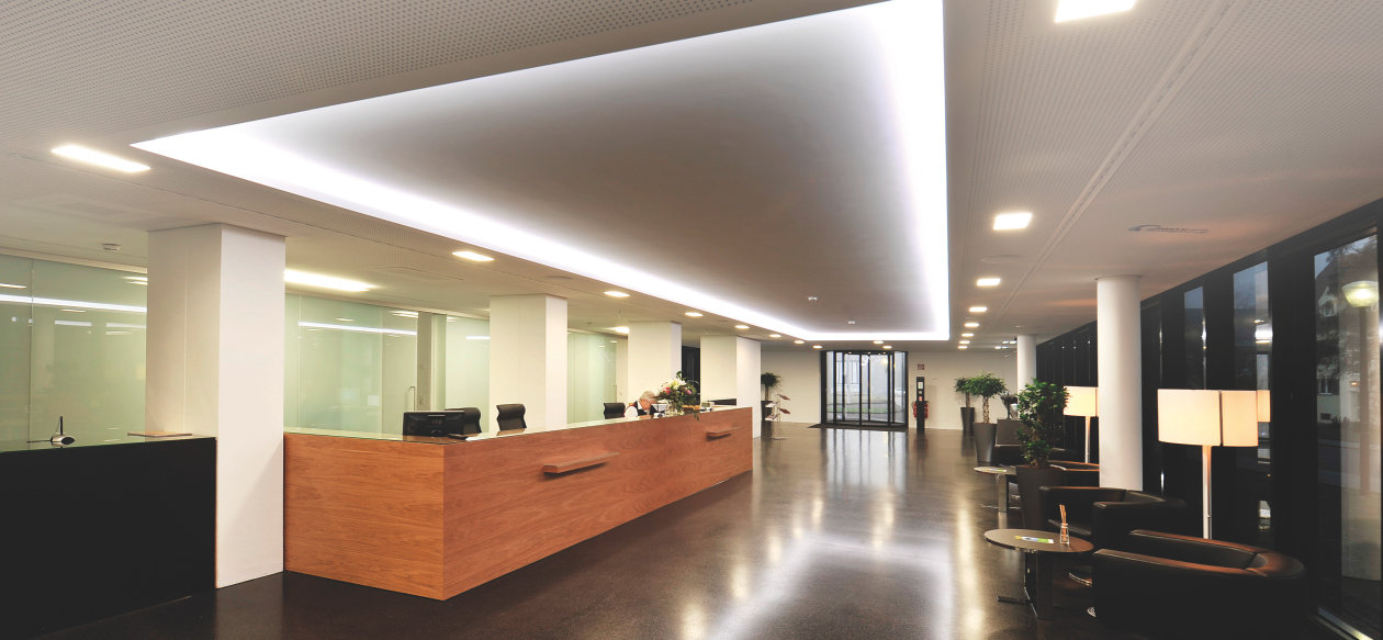 reception areas. an inviting atmosphere for business partners and visitors reception areas c