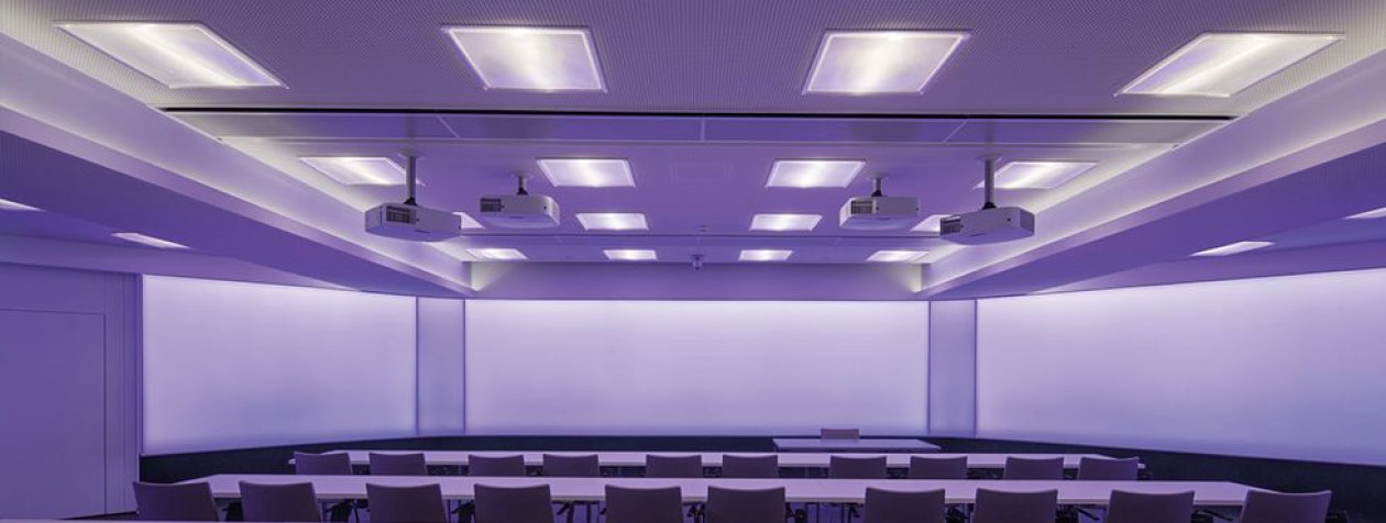 Modern office lighting with LED solutions for Siemens VAI in Linz