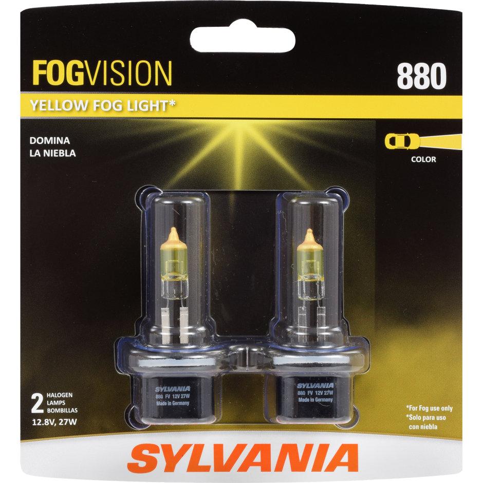 Sylvania 880 Basic Fog Bulb Sylvania Automotive