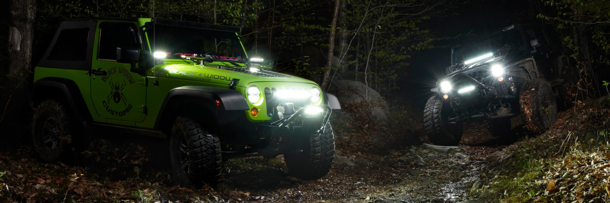 LED Off-Road - Cubes and Light Bars