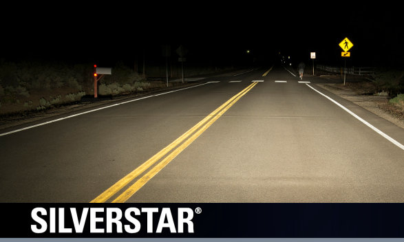 SilverStar Whiter Brighter Headlight Bulb