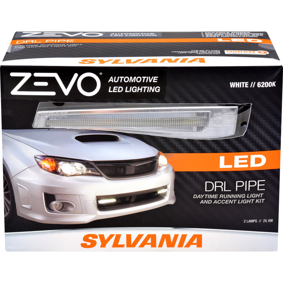 SYLVANIA ZEVO LED Light Pipe Daytime Runnight Light Accent Kit