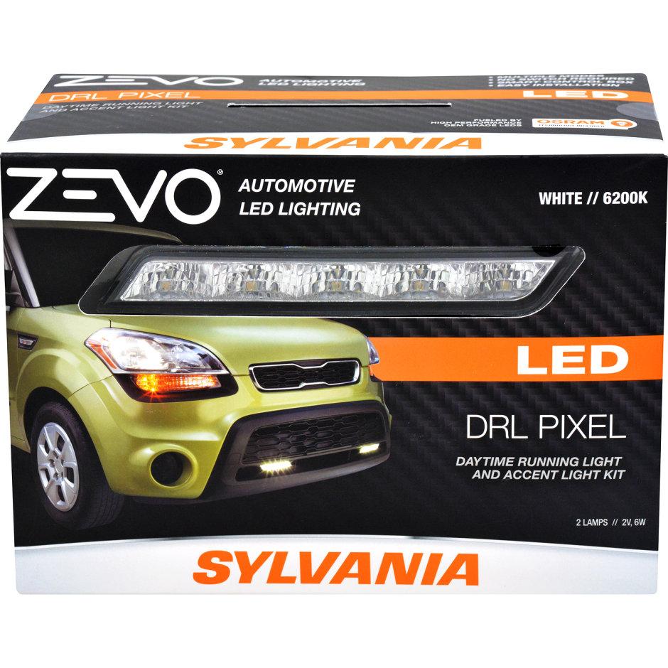 Sylvania Led Drl Light Pipe Kit Bright White Style Subaru Wrx Interior Illumination Wiring Zevo Pixel Daytime Runnight Accent
