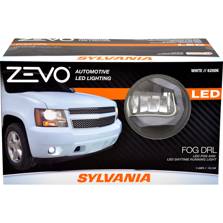 SYLVANIA ZEVO LED Daytime Running Light Fog Kit