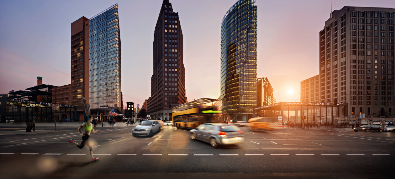 Areas of Competence - Applicatins - Potsdamer Platz