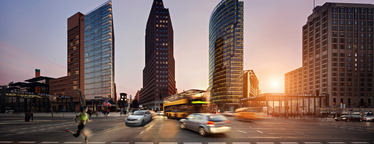 Areas of Competence - Applications - Potsdamer Platz
