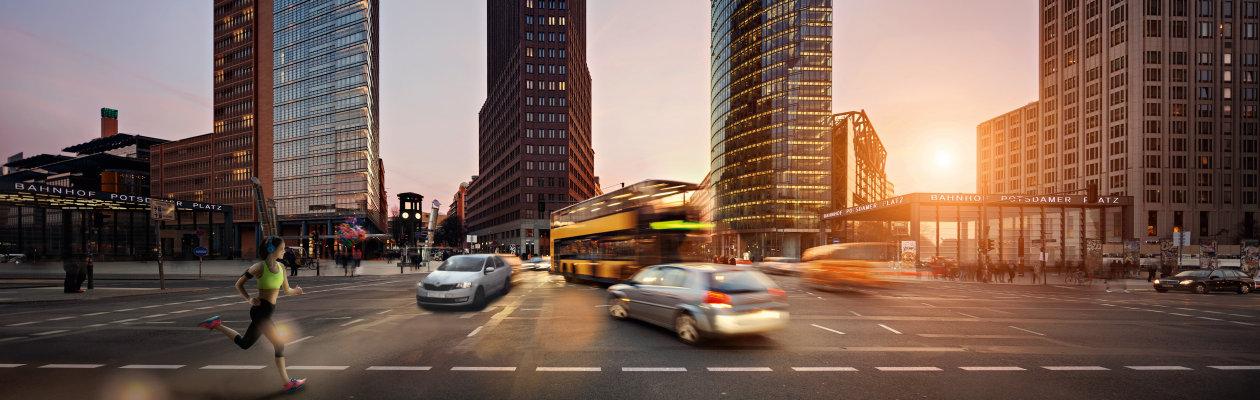 Areas of Competence - Applicatins - Potsdamer Platz