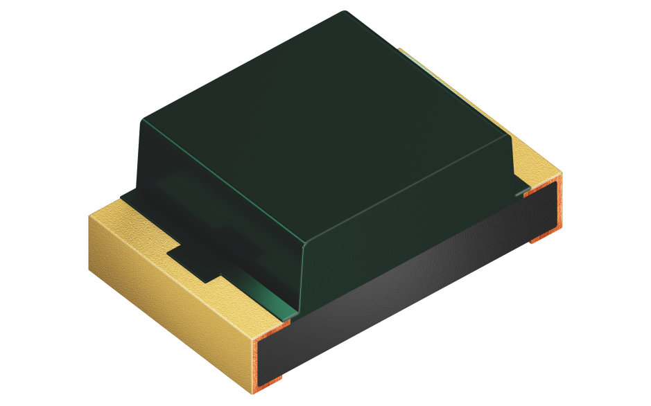 Ambient light sensor SFH 5701 A01 is an active component in which the IC is powered by the signal current and therefore does not need an external power supply.