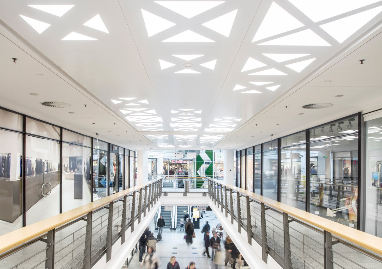 To Mark Its 20th Anniversary In November 2015, The Rostocker Hof Shopping  Mall Was Redesigned By Design Studio Mark Bendow Interior Environments, ...