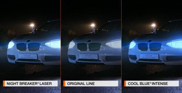 Product Comparison Osram Automotive