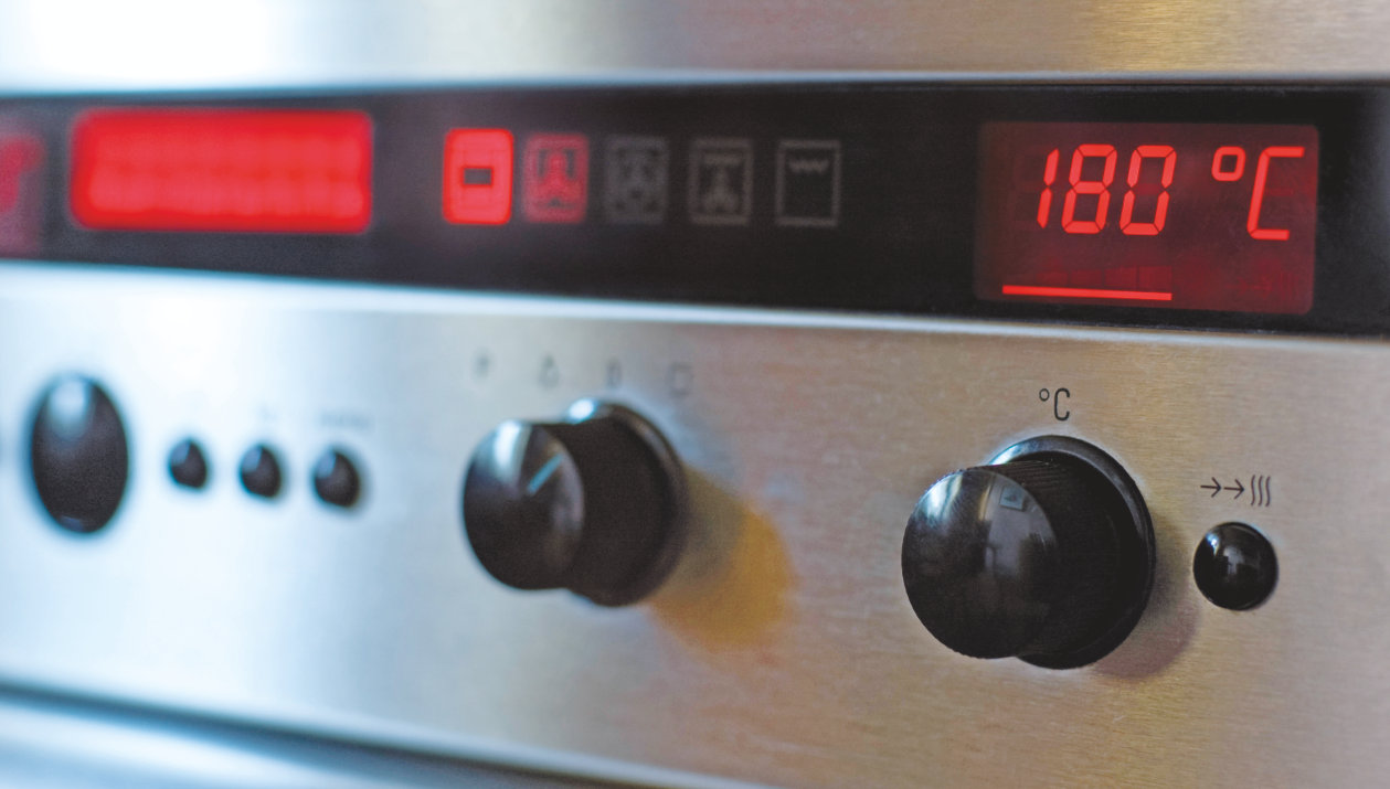 Application - White Goods - Light and Sensing Components - Stove display