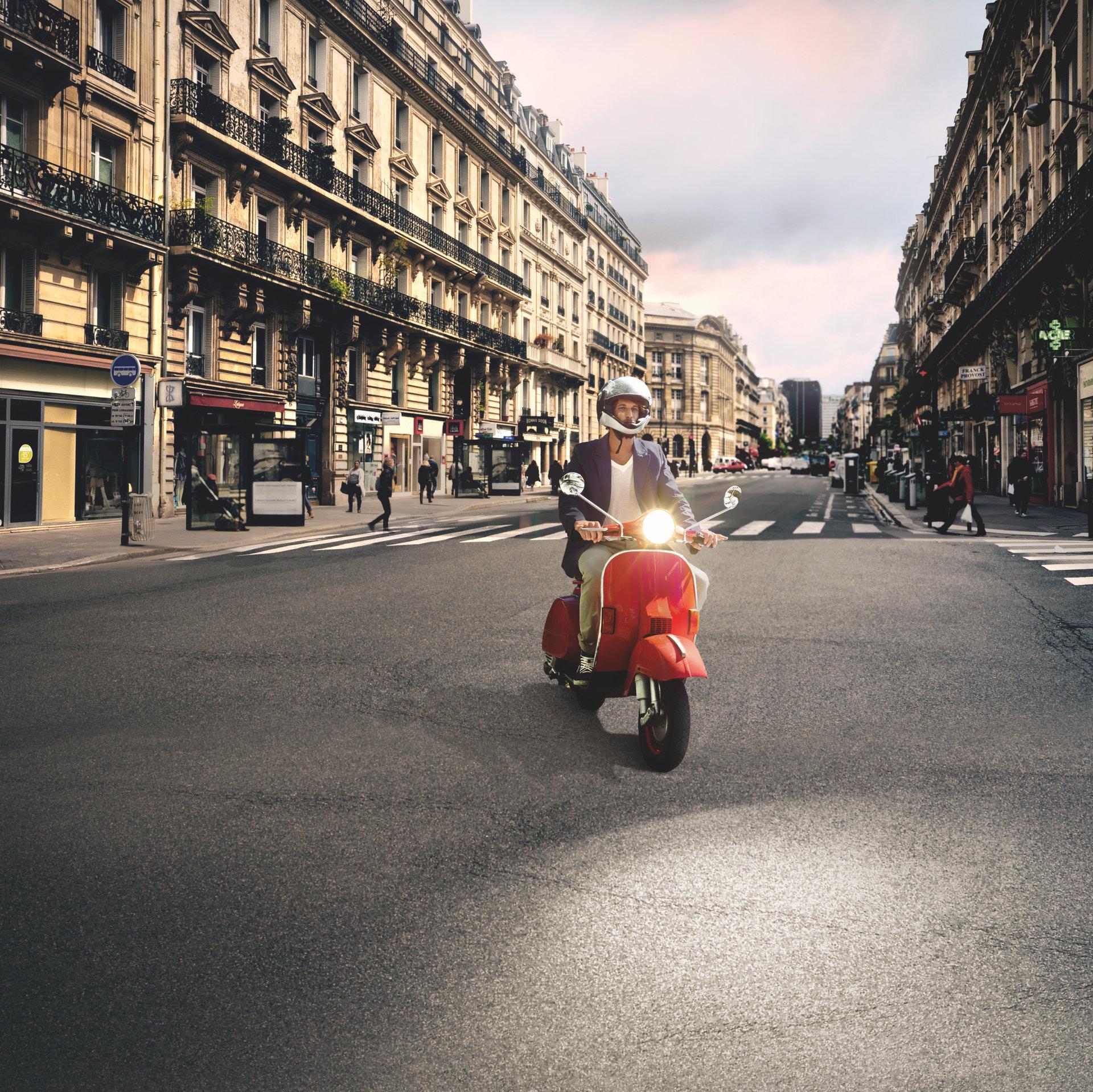 Motorrollerlampen