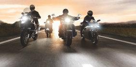 Licht für Motorräder