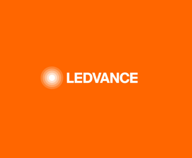 LEDVANCE logo and link to information page