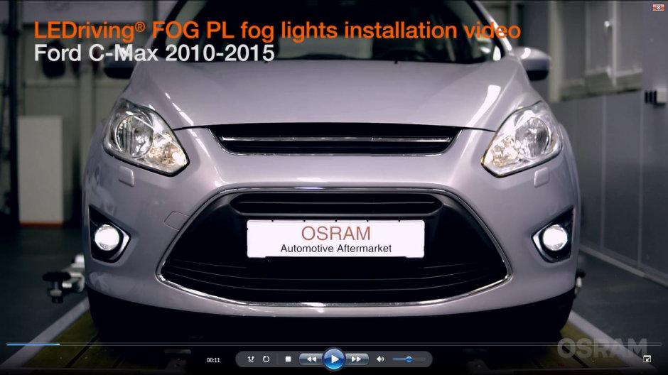 LEDriving FOG PL - fog light with daytime running light function in ...