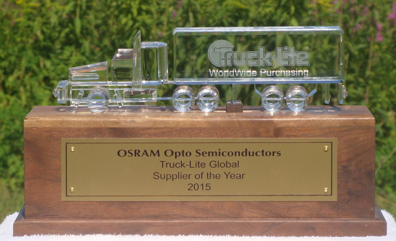 Osram Honored with Supplier Award