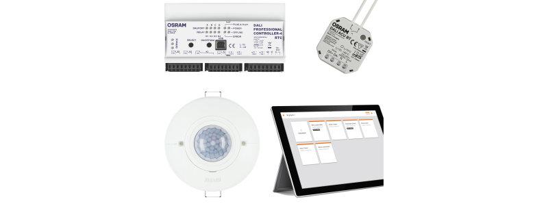 Sistemas de gerenciamento da iluminação