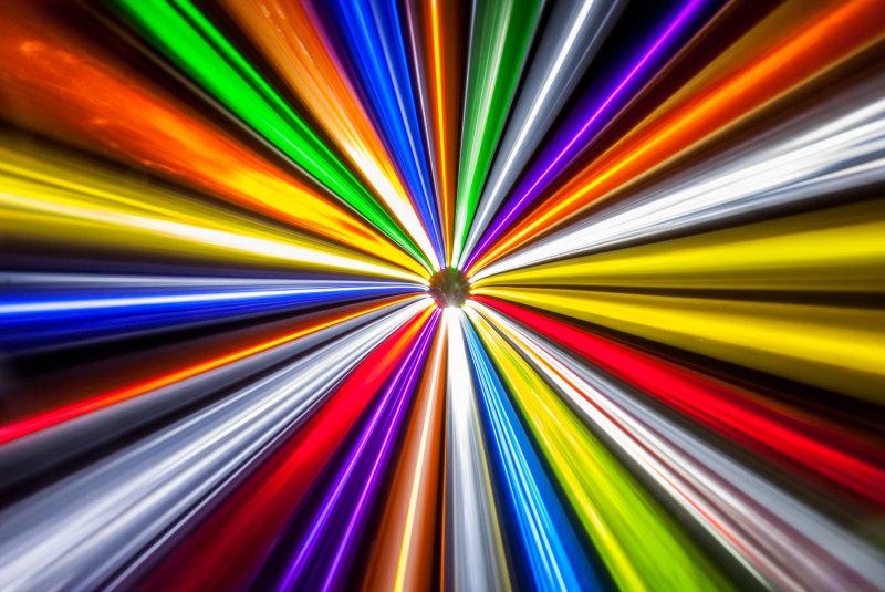 Colour LEDs - a technology profile