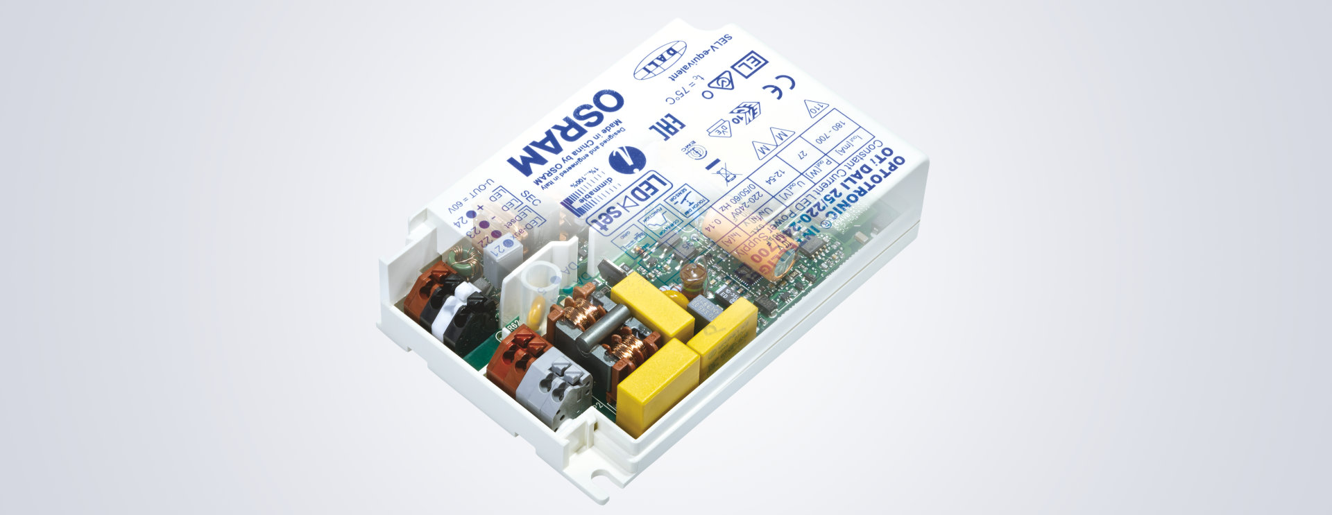 Constant Current Source Led Driver Ballast From Osram Light Capacitors Added To Bulb Circuit The Range Of Drivers