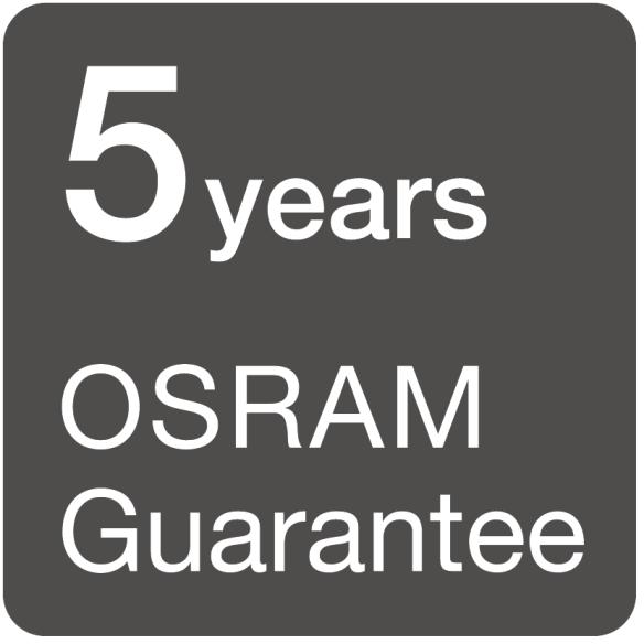 Profesyonel aydınlatma piyasasına yönelik 5 yıla kadar OSRAM garantileri