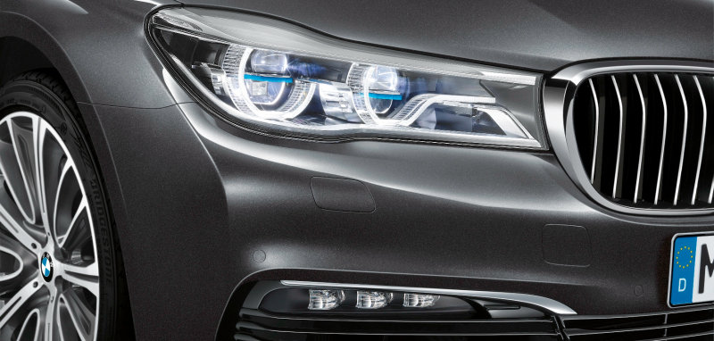 Laser light in the new BMW 7