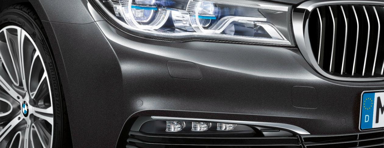 Laser light in BMW 7