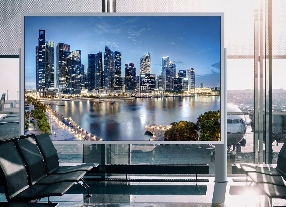 Osram LEDs provide razor sharp displays - Displix E0808 and Displix E1010