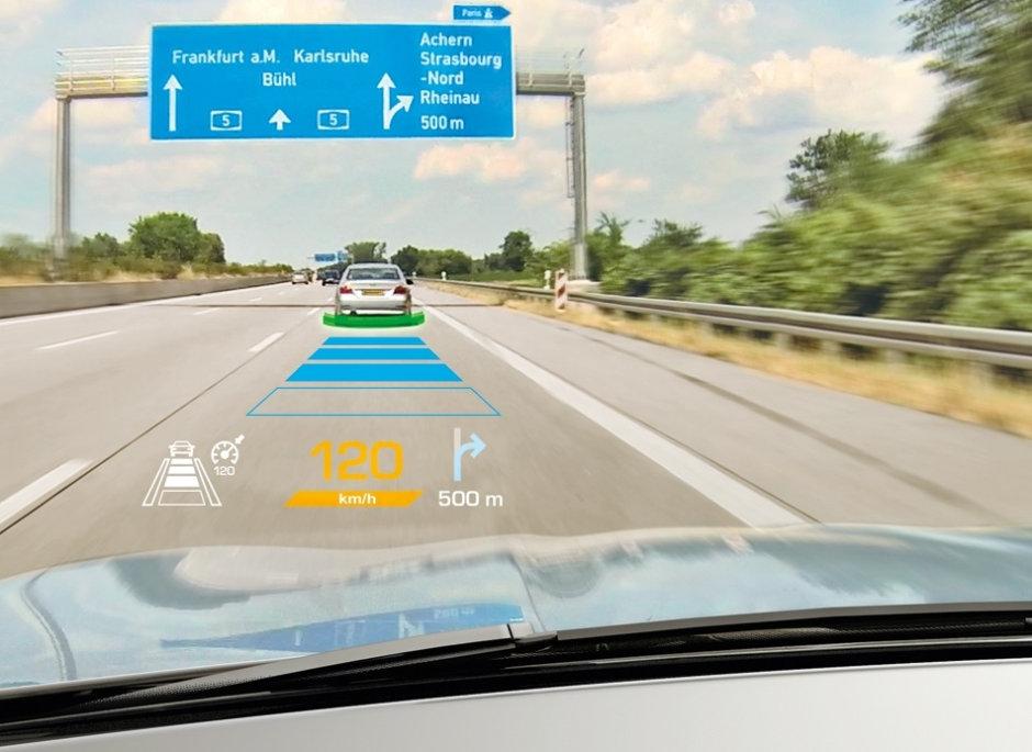Die im Rahmen des Projekts IBELIVE entwickelten photonischen Materialien werden unter anderem in kompakten Head-Up-Displays zum Einsatz kommen.