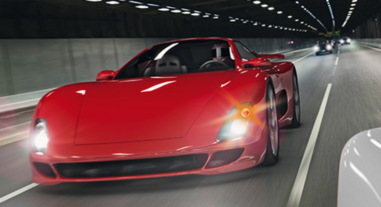 NEW and Updated Application Notes - red sports car