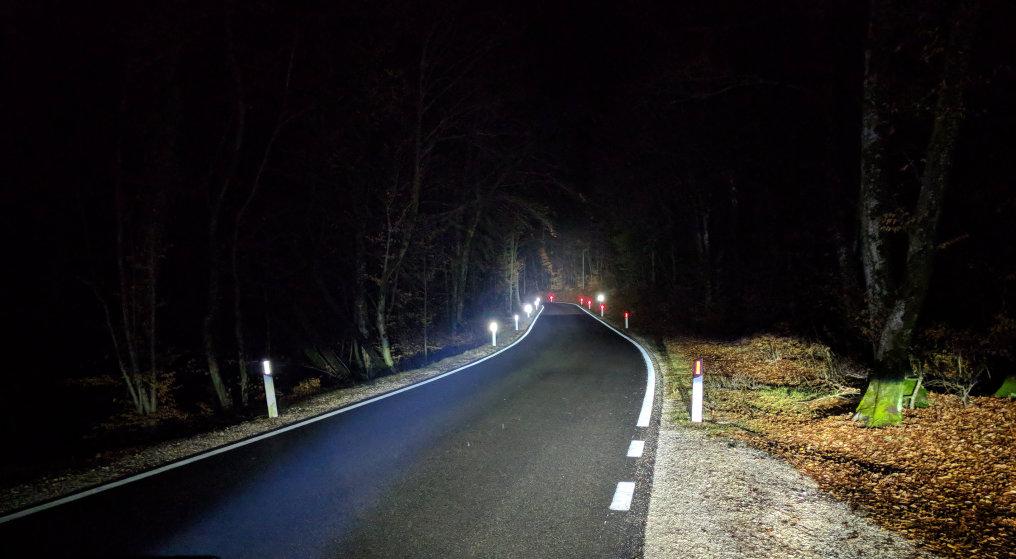 New partner highlight: Hight performance Train Headlight with ultra narrow beam