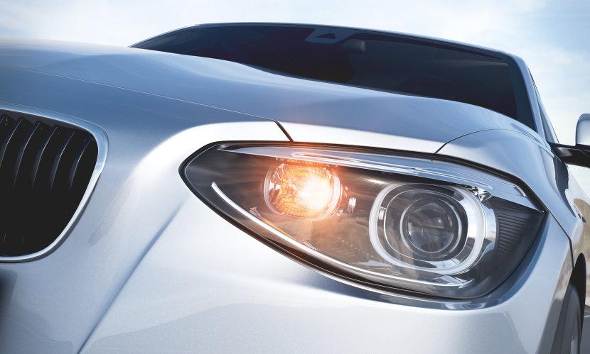 car with DIADEM Chrome lights