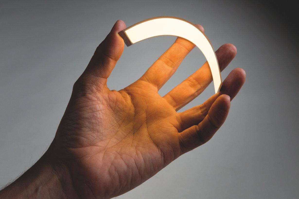 Flexible OLED, bendable
