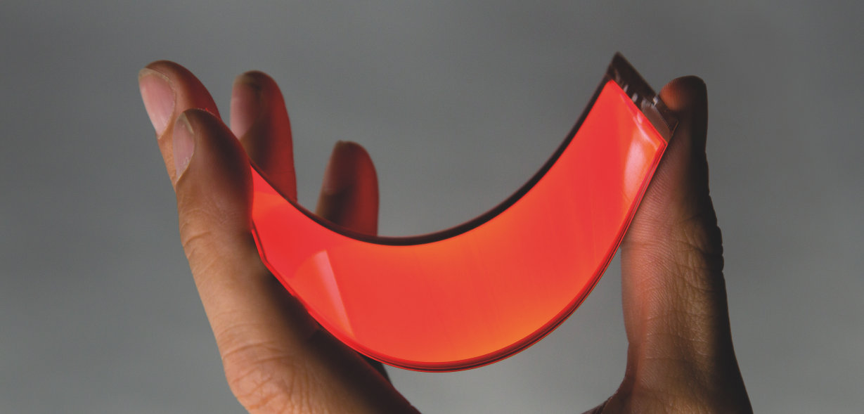 OSRAM and Audi: Flexible OLED