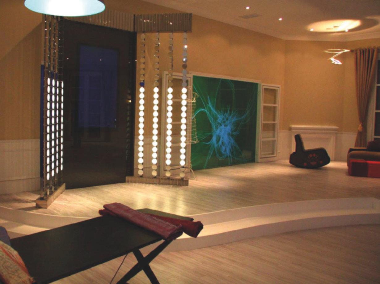 OLED,hospitality, EXPO 2010