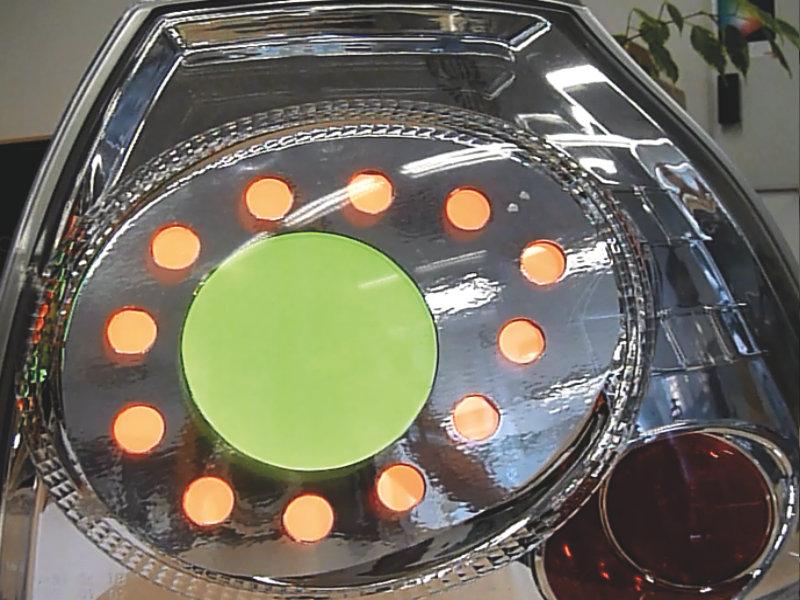 rear light, OLED