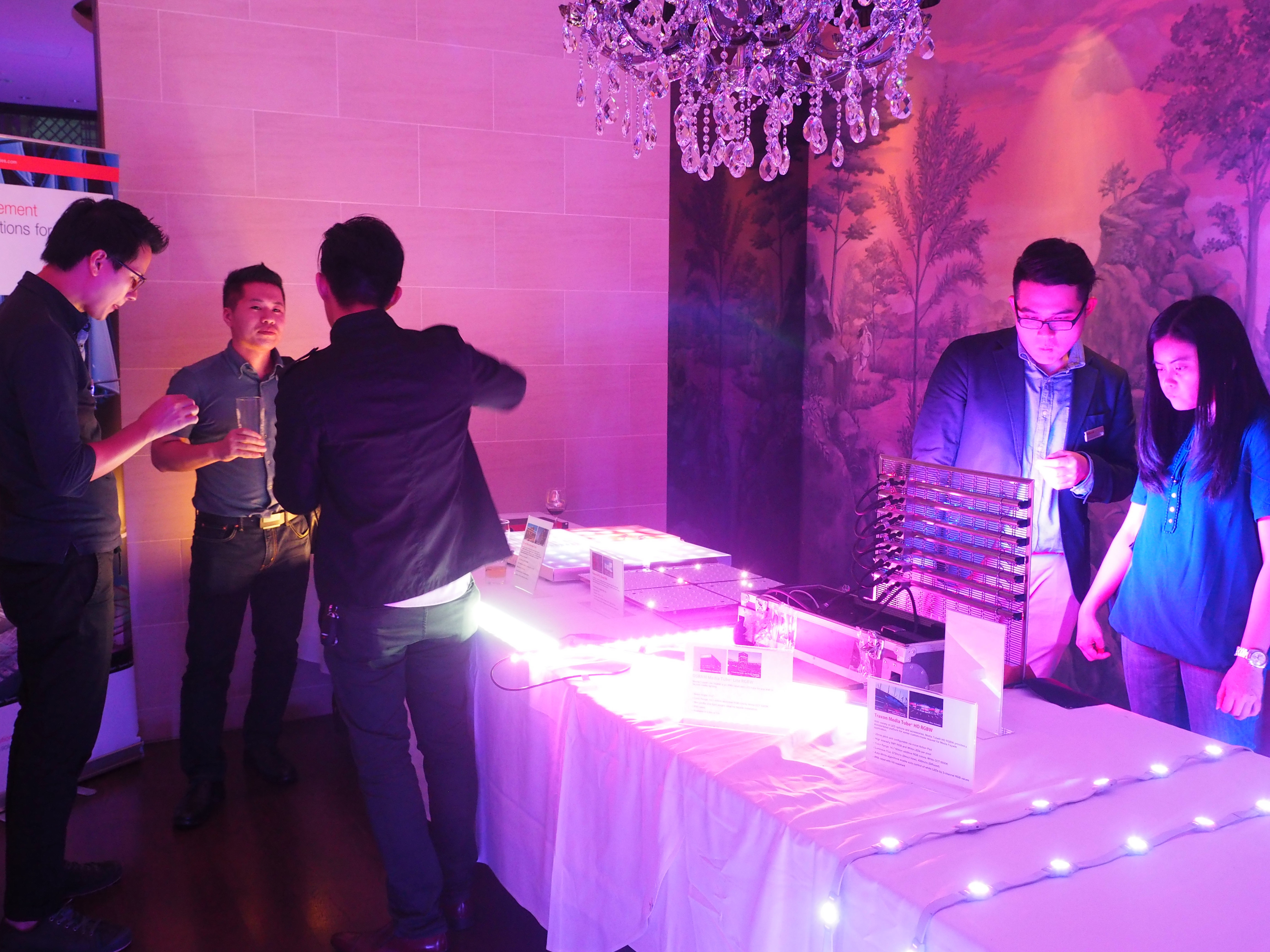Product managers demonstrate and introduce the innovative lighting products to the customers during the event. & Lighting specifiers inspiration in Singapore u2022 OSRAM LS APAC ... azcodes.com