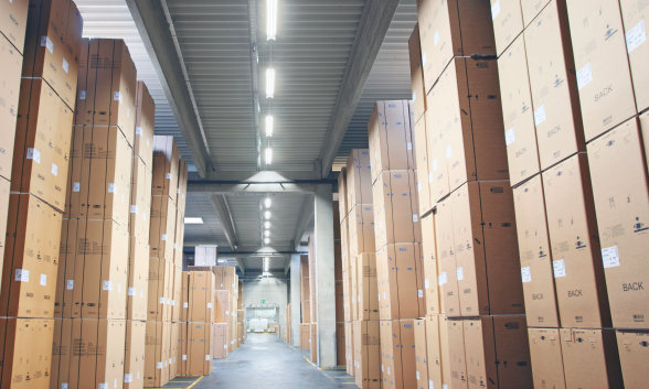 Light for logistics areas, production halls, warehouses
