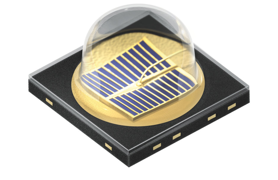 Osram´s SFH 4725S emitter is an automative qualified 940 nm infrared LED with high efficiency