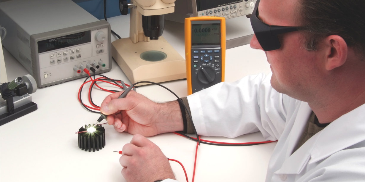 LED thermal & electrical testing