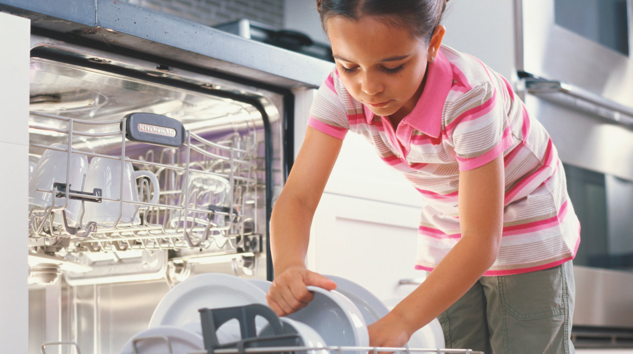 Application - White Goods - Light and sensing Components for Dishwasher
