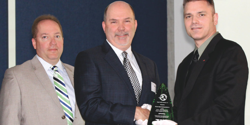 Yazaki North and Central America names OSRAM Opto Semiconductors Green supplier of the year