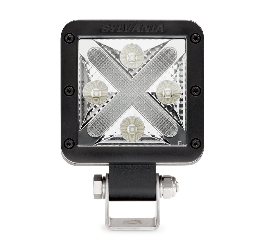 SYLVANIA LED Cube-X Off-Road 45 Degree Flood Light