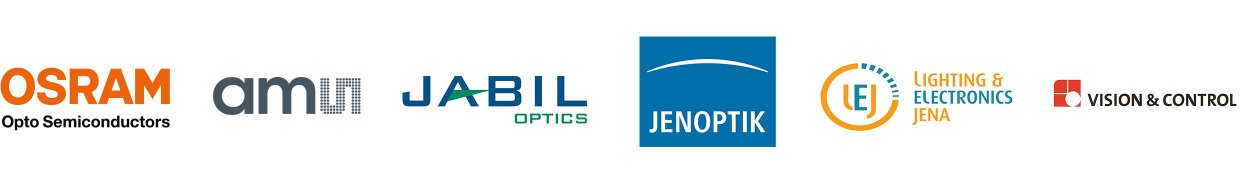 Osram OS ams JABIL JENOPTIK LEJ Vision & Control