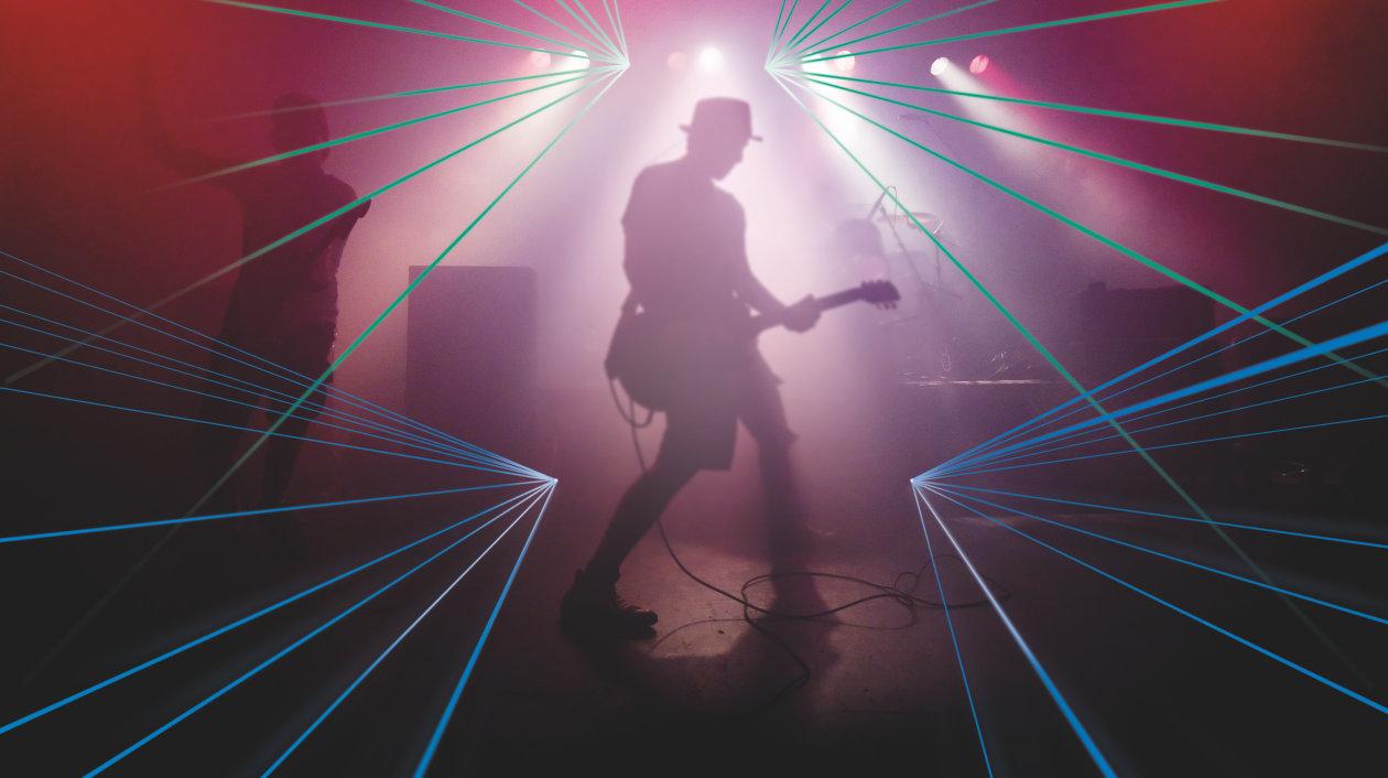 Application - Info- and Entertainment - Laser Light show - Concert