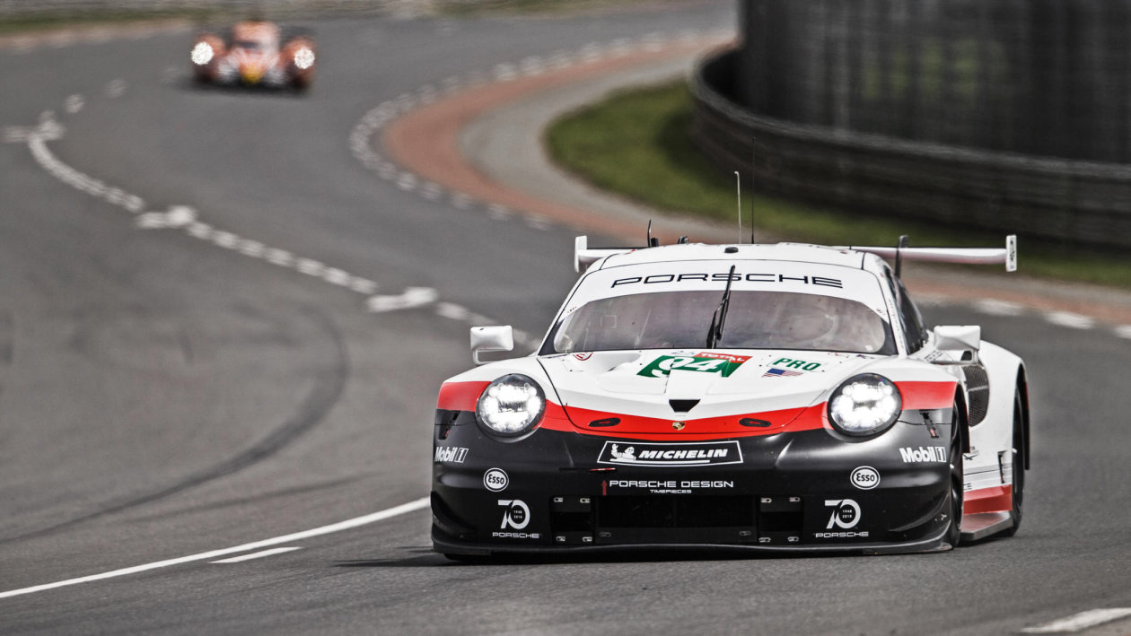 欧司朗光电半导体&保时捷赛车运动 (Porsche Motorsport)