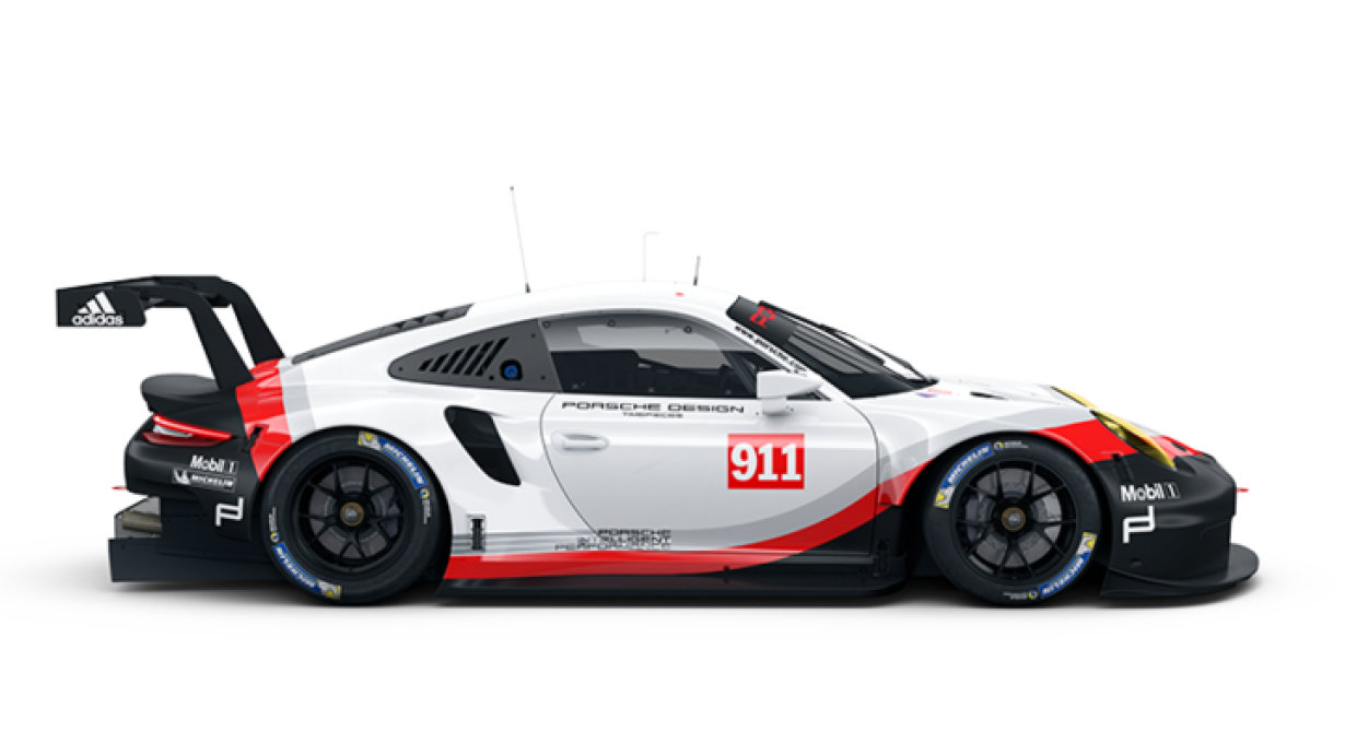 The 911 RSR in focus