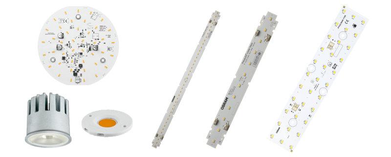 Generadores de luz y módulos