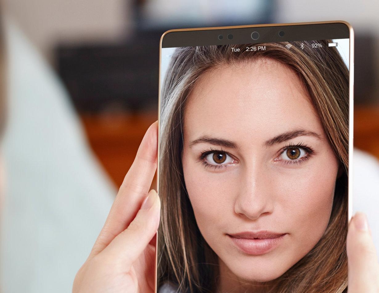 Der PLPVQ 940A kann beispielsweise in mobilen Endgeräten als Lichtquelle für Gesichtserkennung eingesetzt werden und leuchtet dabei das Gesicht gleichmäßig aus.